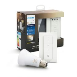 Philips Hue White Ambiance Lysopskrifter 9,5W A19 E27